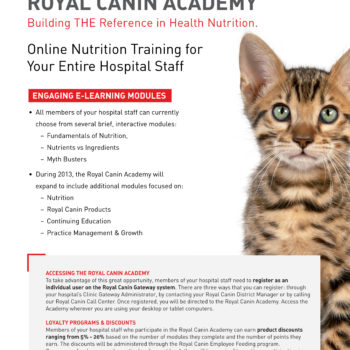 Print Design: Royal Canin Poster