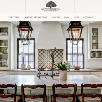 Website Design: Southern Green Builders